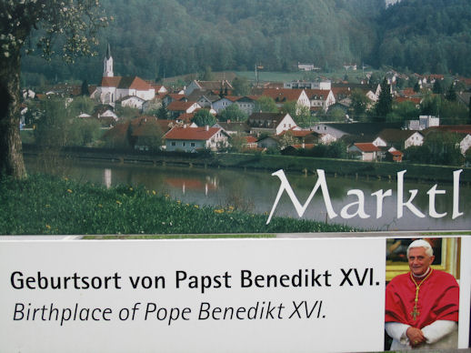 Marktl am Inn - Birthplace of Pope Benedikt XVI