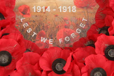 Lest We Forget 1914-1918